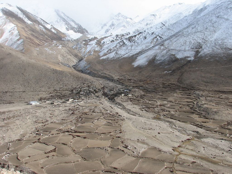 village Tibetian plateau >4000m