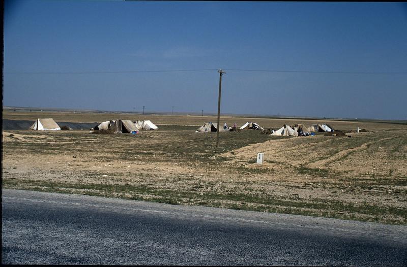 Nomad tents (Konya plain)