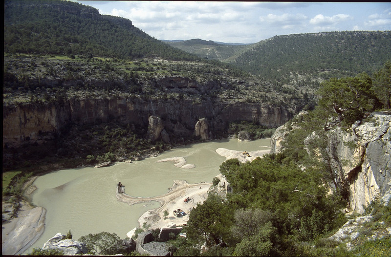 river in the Taurus mountains
