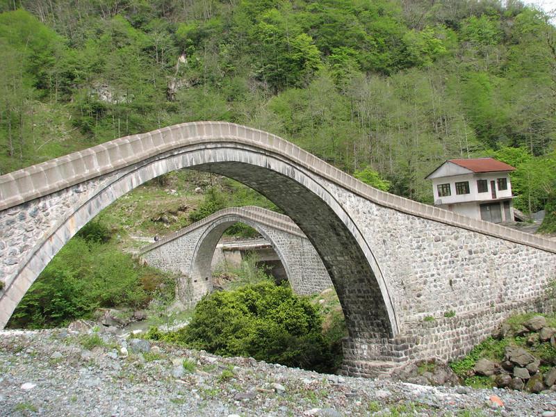bridges near Ortacalar (Rize area, North East Turkey spring 2007)