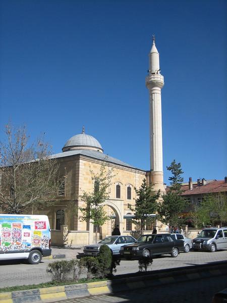 Mosque in Bayburt (North East Turkey spring 2007)
