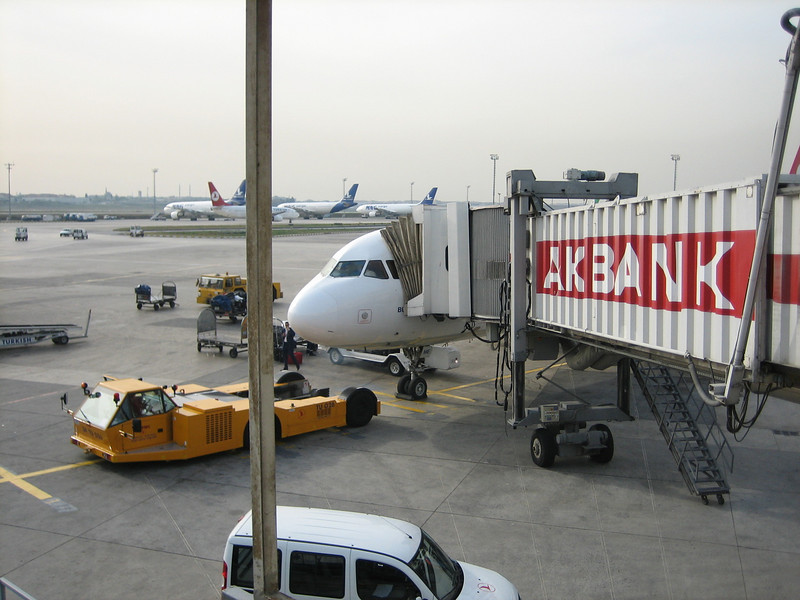 20 May 2007, Trabzon airport, we are going back home (Trabzon - Istanbul - Dusseldorf)