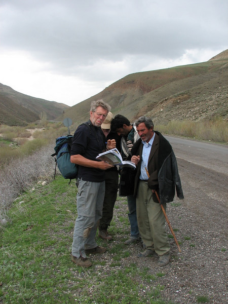 Sicco and Kristian ask for growing places (bulbous plants, North East Turkey spring 2007)