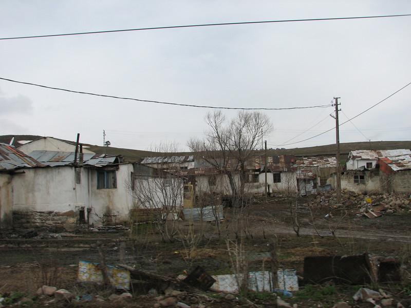 village Kars-Erzurum (North East Turkey spring 2007)
