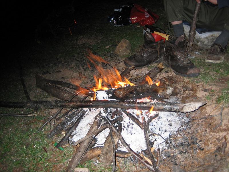 campfire (North East Turkey spring 2007)