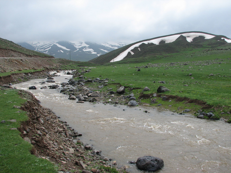 Palendoken mountains (North East Turkey spring 2007)