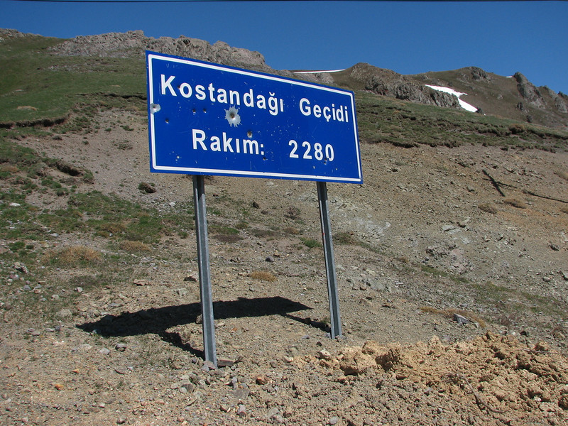 Passes, one of the possible sites to see bulbous plants (Kopdagi Gecidi pass 2390m South of Bayburt)