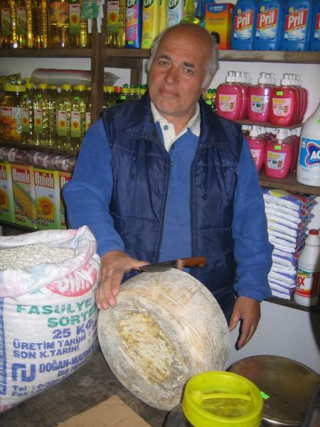 Turkish cheese (North East Turkey spring 2007)
