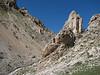 habitat of Saxifraga kotschyi (calcarous rocks, North East Turkey spring 2007)