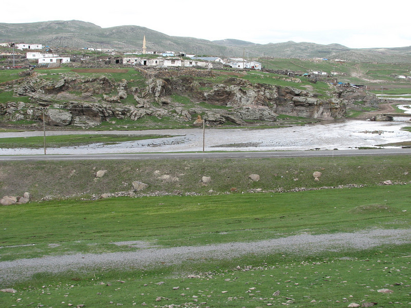 village on the route: Artvin-Ardahan-Kars (North East Turkey spring 2007)