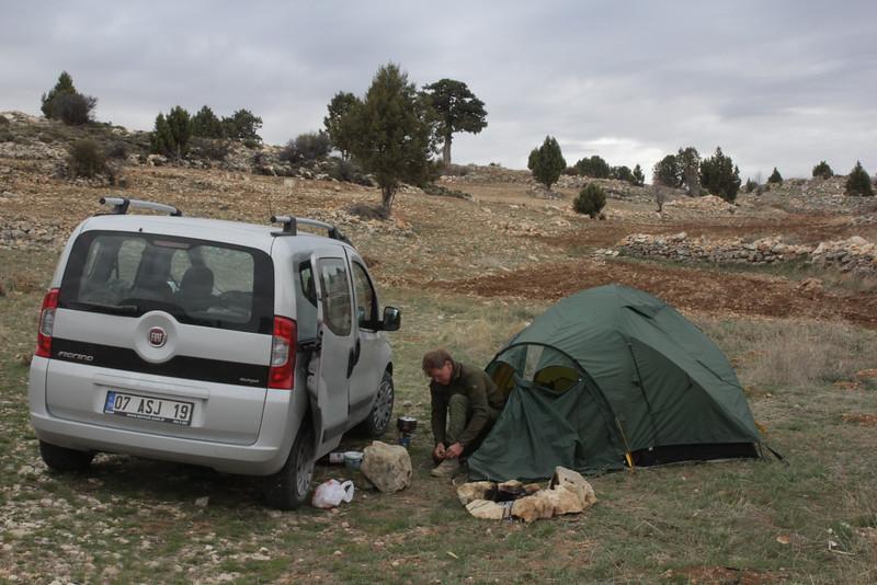 Camp near Kirobasi,