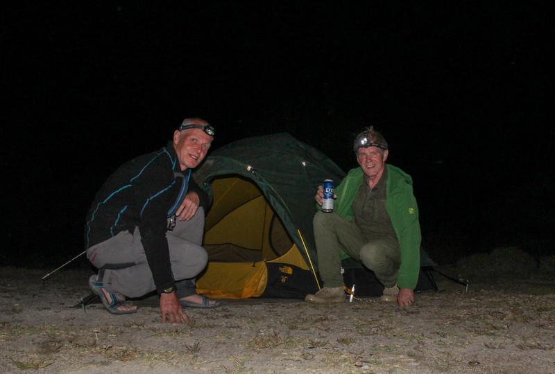 Camp at Göksu-delta