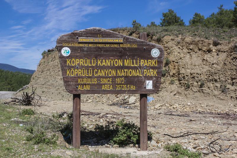 Sign National Park