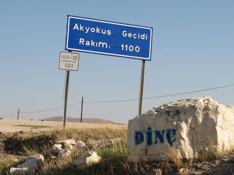 Akyokus Gecidi (pass) 1100m. (Hassa - Gazi Antep)