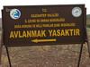 Nat.Park Avlanmak Yasaktir near Musabeyli (Gazi Antep - Kahraman Maras)