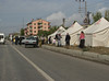 Tents, the city Ercis, meet with the earthquake of October 22th 2011