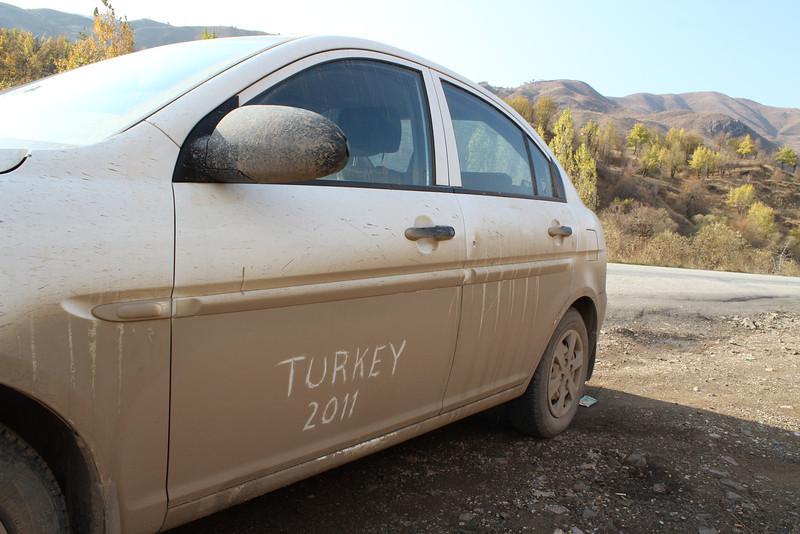 Southeastern Turkey, Oct. 19th-Nov. 3th ca. 2600km