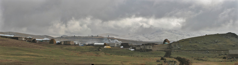Landscape near Dogubayazit, near the border of Iran