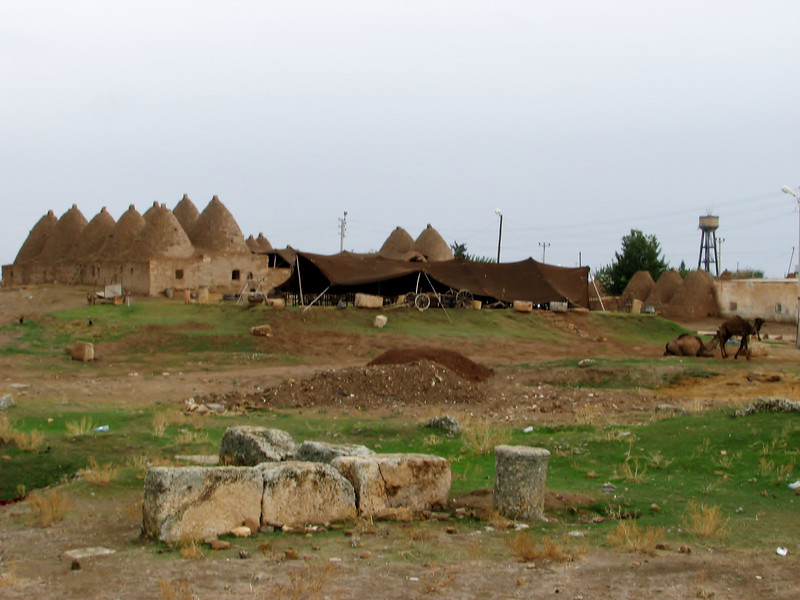 Traditional old houses of Harran, S.E. of Sanliurfa
