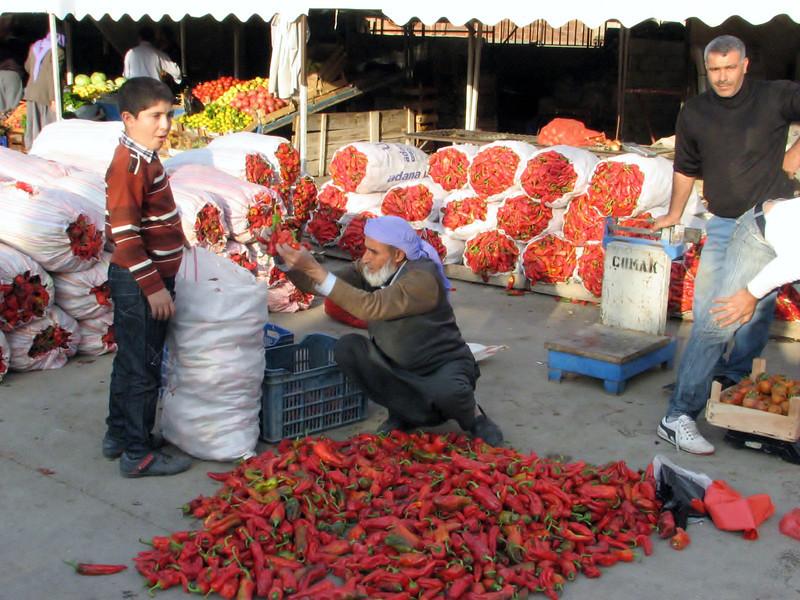 Market near the Sabir Makami Mosque, Sanliurfa