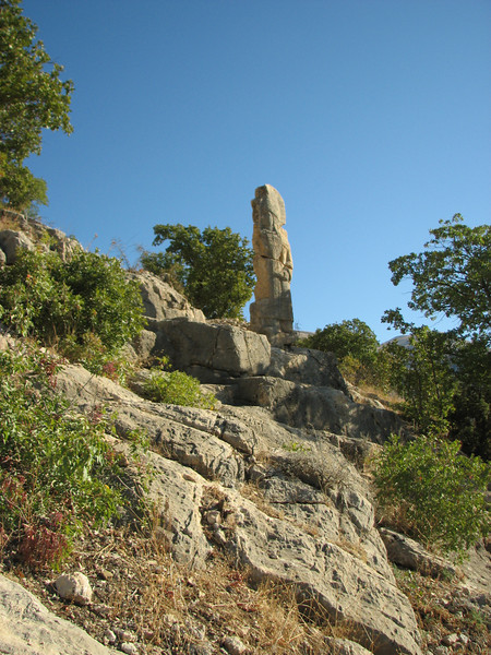 Archaeological site, Arsameia, Southeast of Malatya