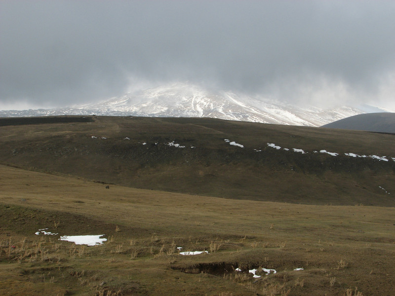 The base of the Ararat 5123m (Agri Dagi) the summit isn't  visible, Dogubayazit near the Iranian border