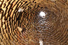 Inside of a roof. Traditional old houses of Harran, S.E. of Sanliurfa