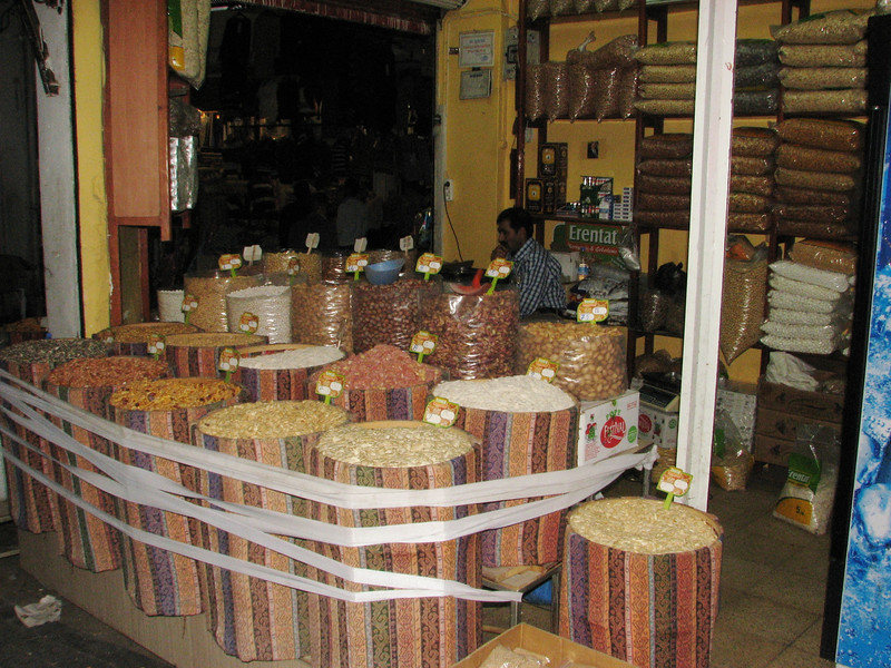 Nuts and spices, Sanliurfa, the old town
