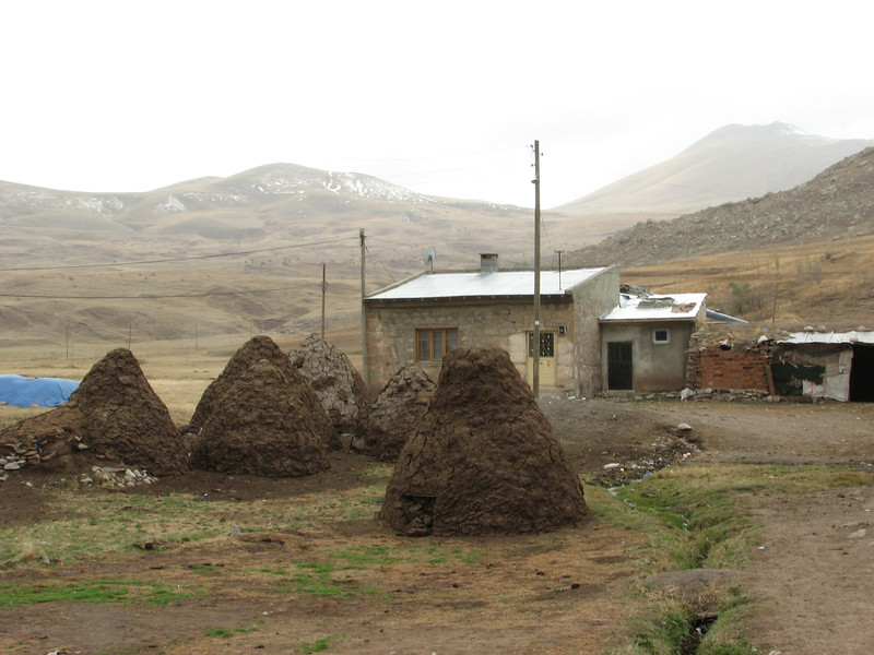 Village Yeniköy, South of Askale (Askale- Ciftlik) West Palendoken mountains