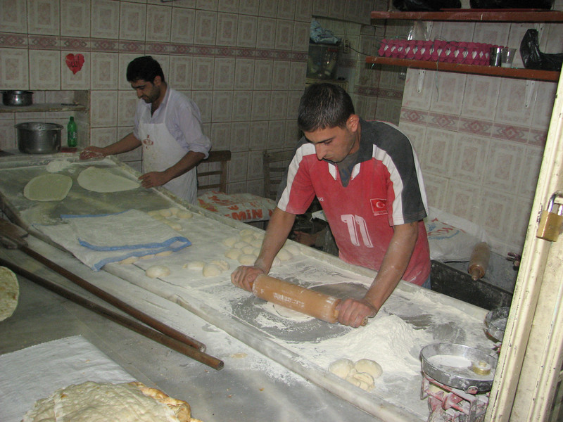 baker's shop, Sanliurfa, the old town