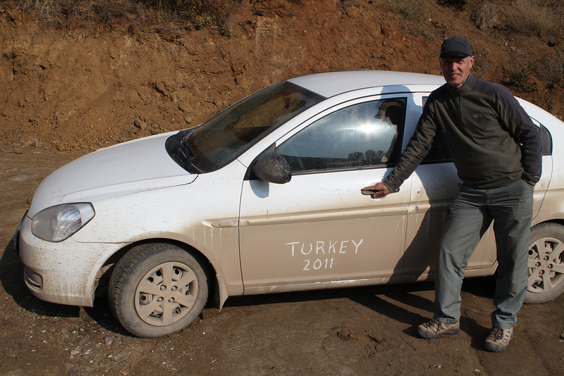 Southeastern Turkey, Oct. 19th-Nov. 3th ca. 2600km