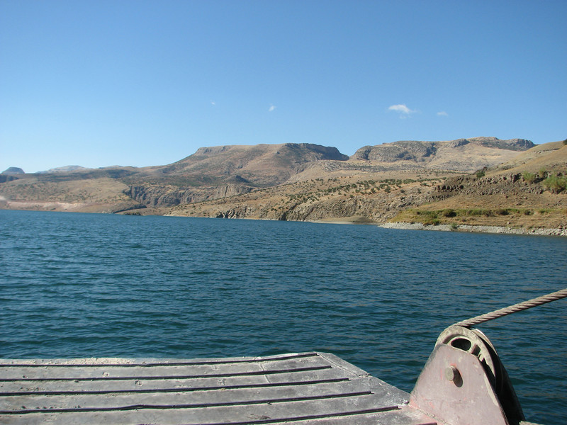 Siverek - with ferry across Atatürk Baraji - Nemrut Dagi