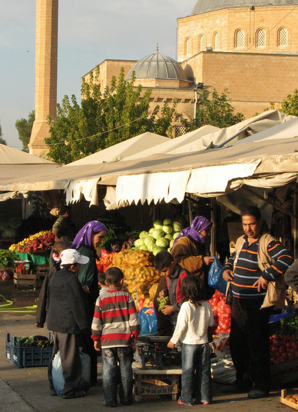 Market near the Sabir Makami Mosque, Sanliurfa