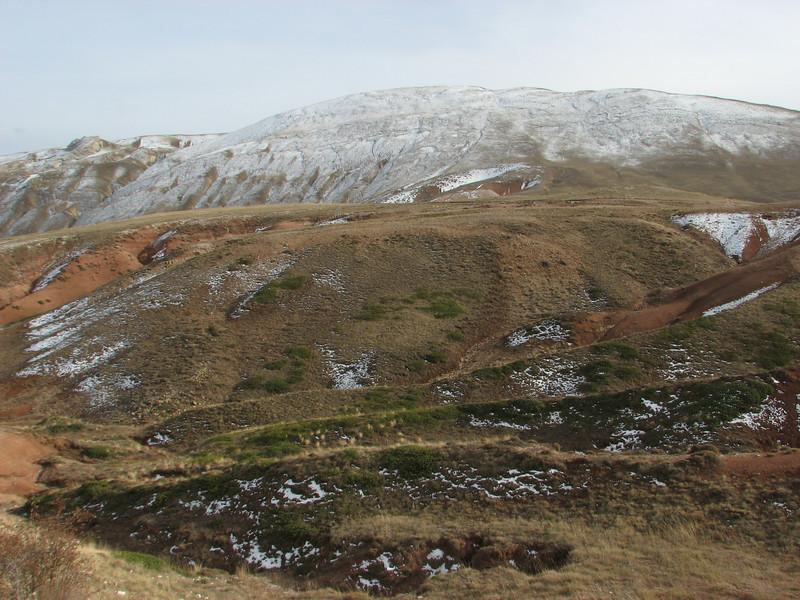Landscape Esence Daglari, N.E. of Erzincan (Erzincan-Cayirli-Tercan)