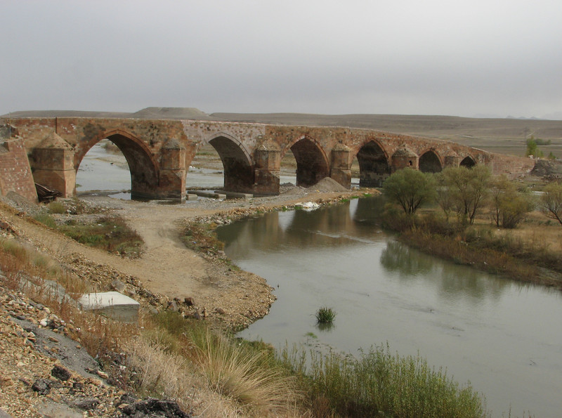 Bridge over the Karasu river near Tercan