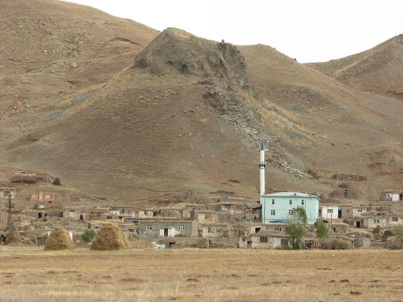 Village between Tercan and Askale