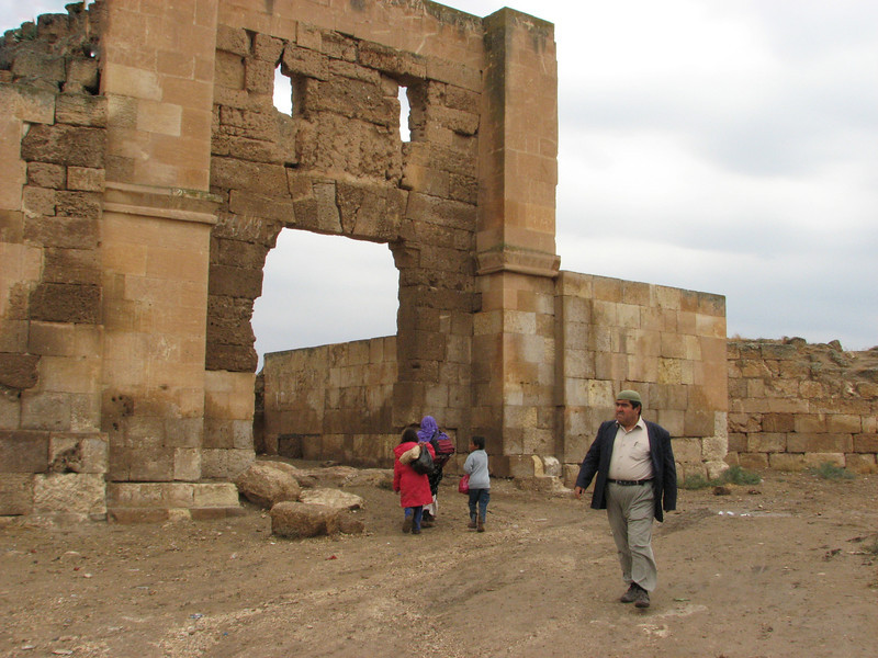 Entrance gate of old Harran, (S.E. of Sanliurfa)