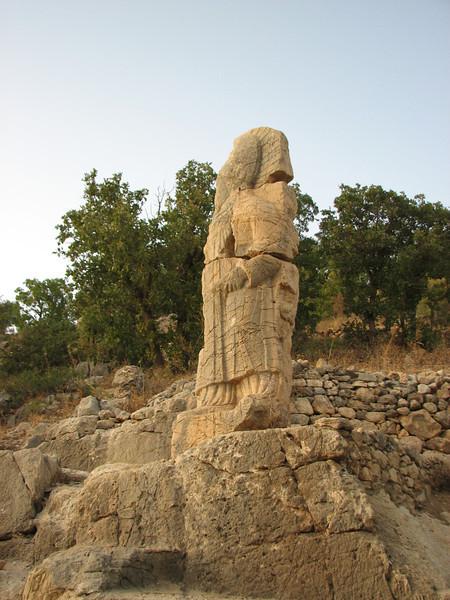 Archaeological site, Arsameia, Southeast of Malatya