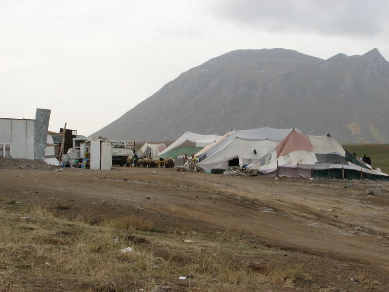 Tents of Nomads, Tatvan, North of Bitlis