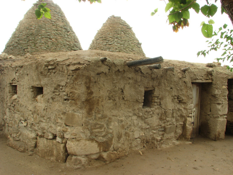 Traditional old houses of Harran, S.E. of Sanliurfa