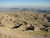 View from the archaeological site, Nemrut Dagi