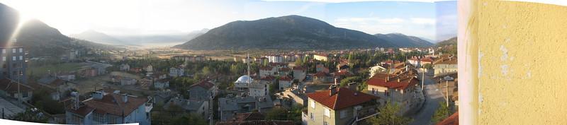 panoramaview of Akseki (Southwestern Turkey)
