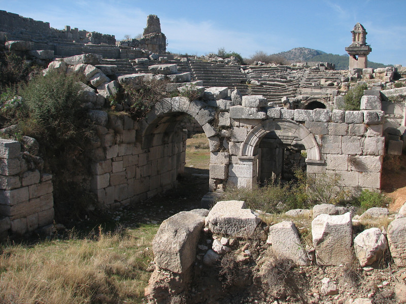 Archeologic site Xanthos, SW Turkey