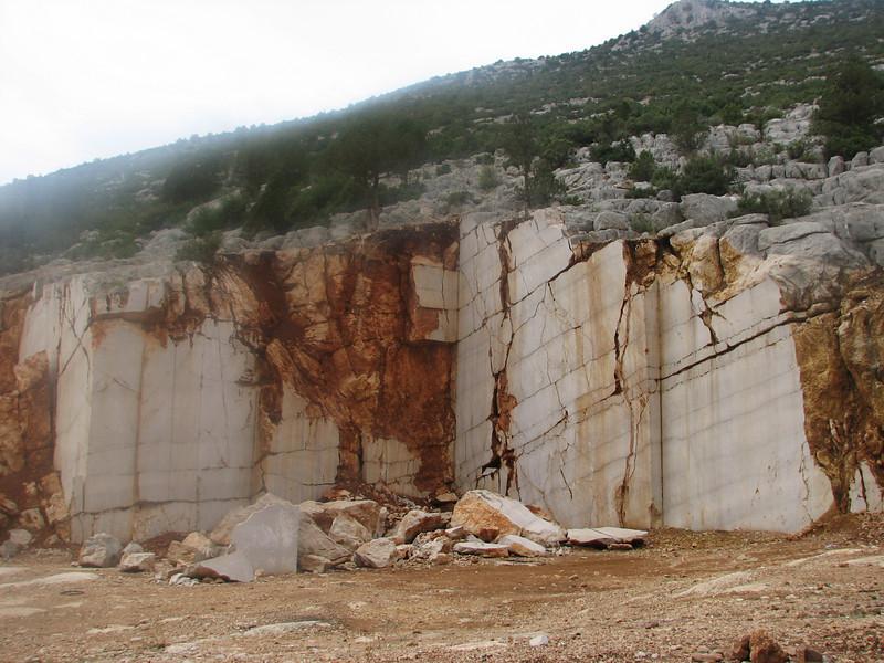 A marble quarry in Akseki (Akseki, Southwestern Turkey)