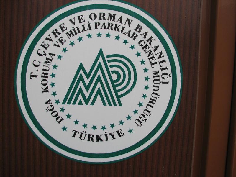logo of the Nat. Parks (Southwestern Turkey)
