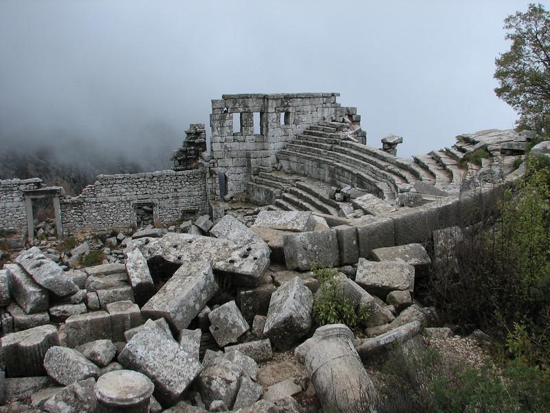 archeologic site Termessos near Antalya (Southwestern Turkey)