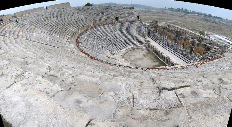 theatre at Hierapolis (Pamukkale)