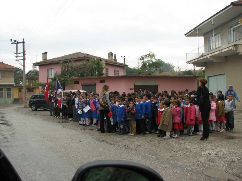 School children (near Akköy)