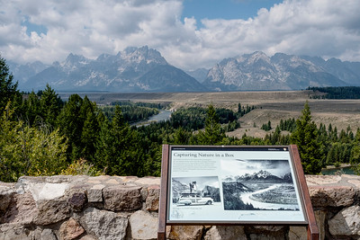 """Every day hundreds of """"photographers"""" stop at the Ansel Adams point in Teton National Park and take a stab at reproducing Adam's famous picture. It's a fool's errand. The landscape has changed, the trees have grown up, the ground cover on the river banks is different, the light is never the same and few if any have Adam's eye, skill or large format camera.  If you ever get a chance to view Adams prints, not the glossy table book reproductions, you'll finally understand why attempting to copy a master while fun is futile."""