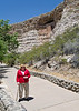 My mother under Montezuma's Castle. This is one of my parent's favorite little monuments. We stopped on the way to Page and had a picnic.